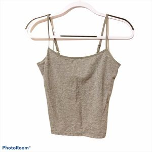 American Eagle basic gray tank top size small